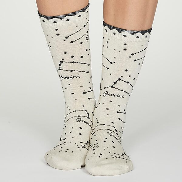 Thought Gemini Zodiac Socks