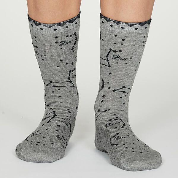 Thought Leo Zodiac Socks