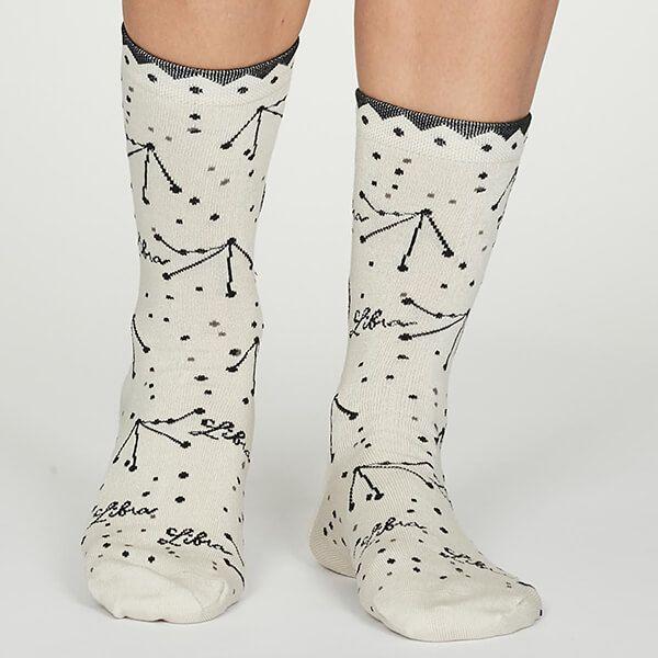 Thought Libra Zodiac Socks