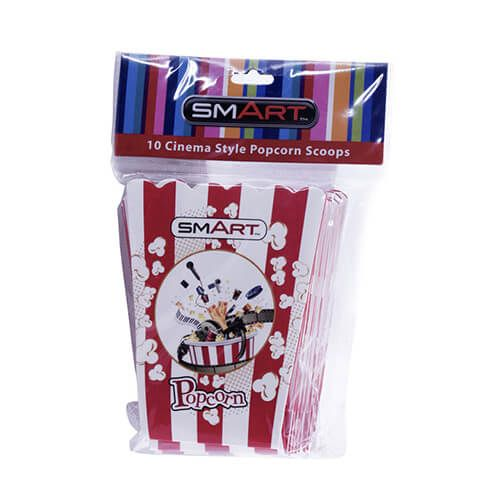 Smart Small Popcorn Scoops Pack Of 10