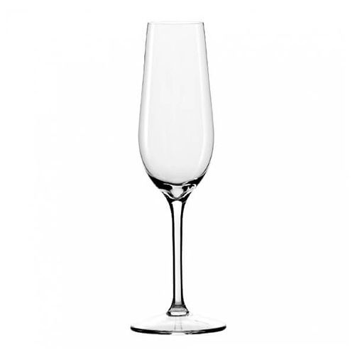 Dartington Crystal Set Of 6 Champagne Flute Glasses
