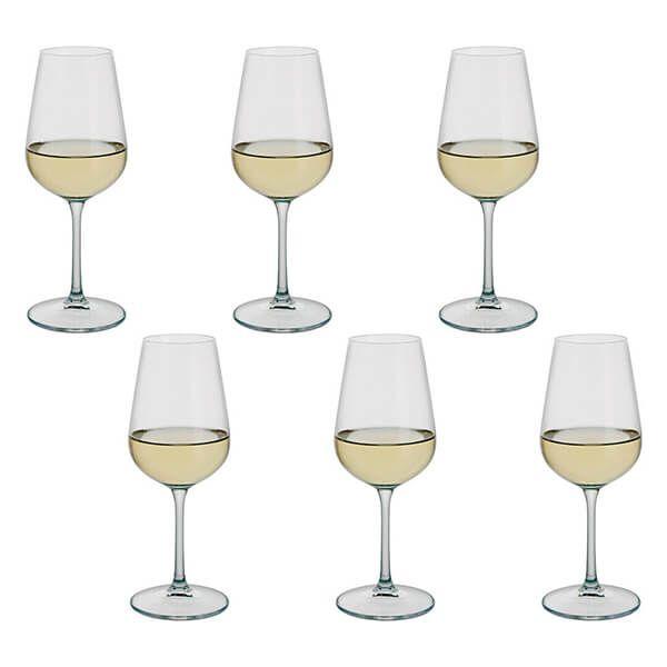 Dartington Select Set Of 6 White Wine Glasses