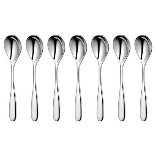 Robert Welch Stanton Bright Coffee Spoon 8 Piece Set