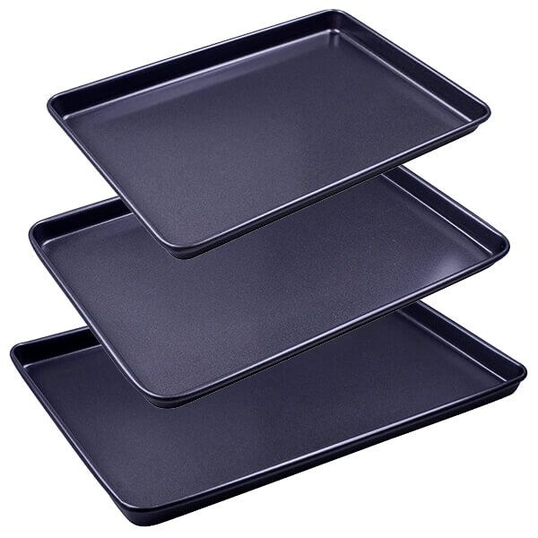 Stoven Non-Stick 3 Piece Baking Tray Set