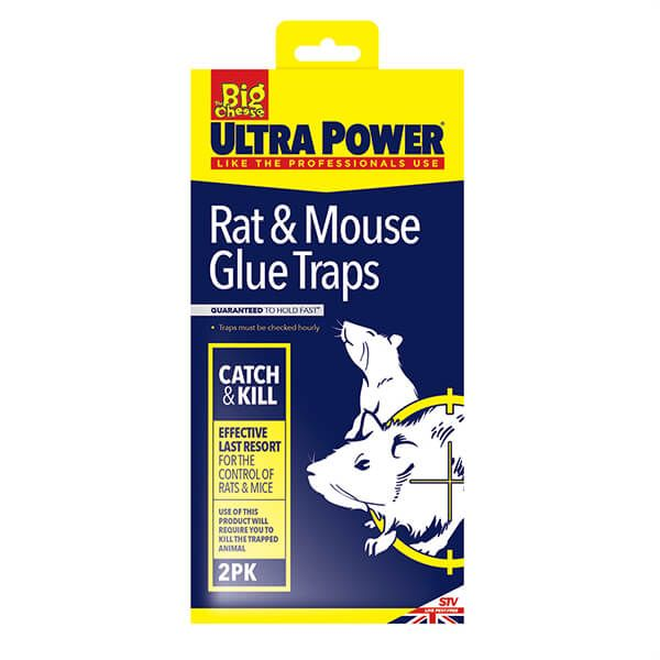 The Big Cheese RTU Rat & Mouse Glue Trap Pack Of 2
