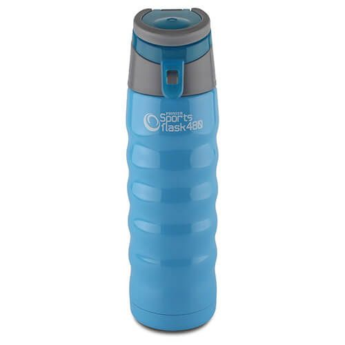 Pioneer Insulated Sports Flask 480ml Blue