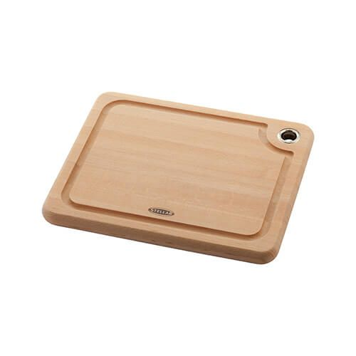 Stellar Beech Woodware 27 x 22 x 2cm Cutting Board