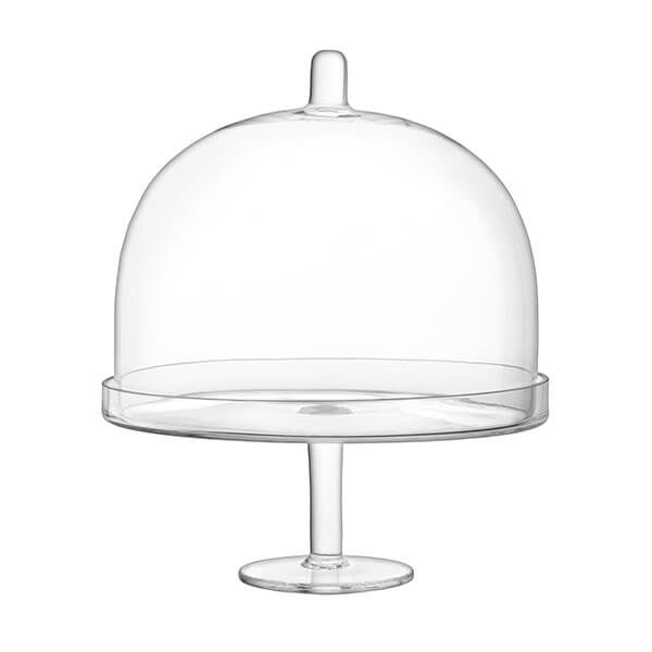 LSA Serve Arch 25cm Cakestand & Dome