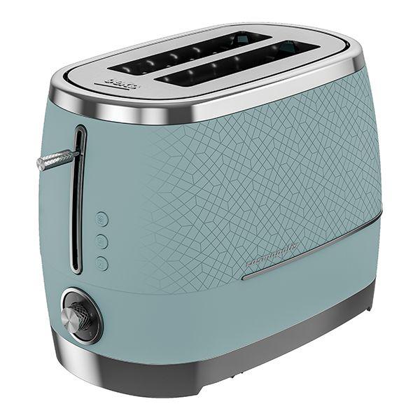 Beko Duck Egg Blue & Chrome Cosmopolis 2 Slot Toaster