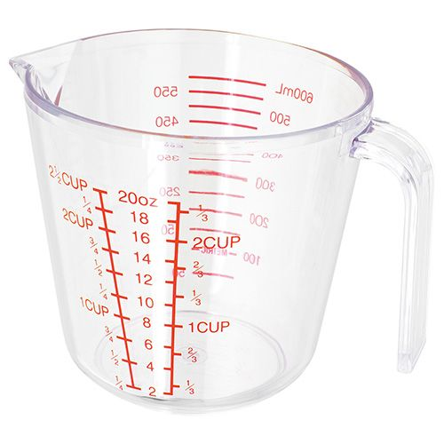 Judge Acrylic 500ml Measuring Jug