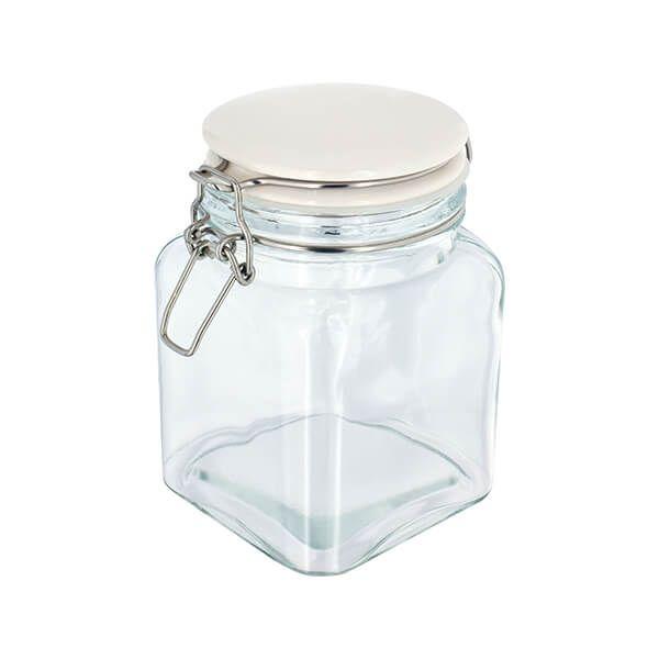 Judge Kitchen Clip Top Storage Jar, 750ml
