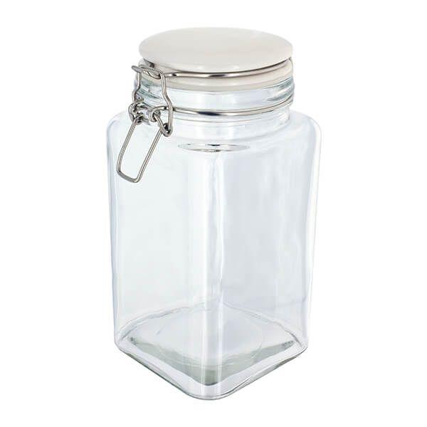 Judge Kitchen Clip Top Storage Jar, 1.7L