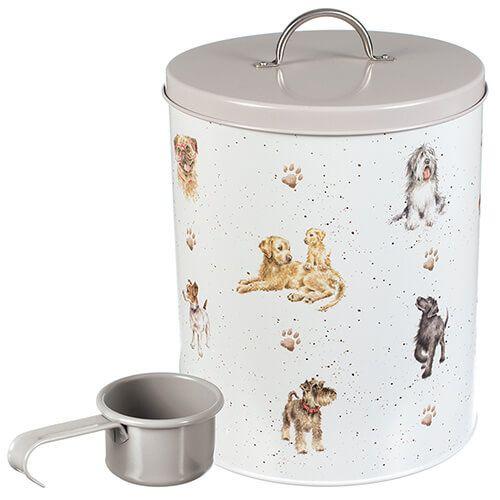 Wrendale Dog Food Tin