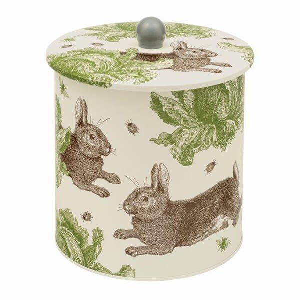 Thornback & Peel Rabbit & Cabbage Biscuit Barrel Tin