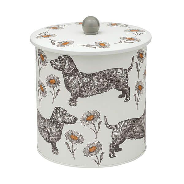 Thornback & Peel Dog & Daisy Biscuit Barrel