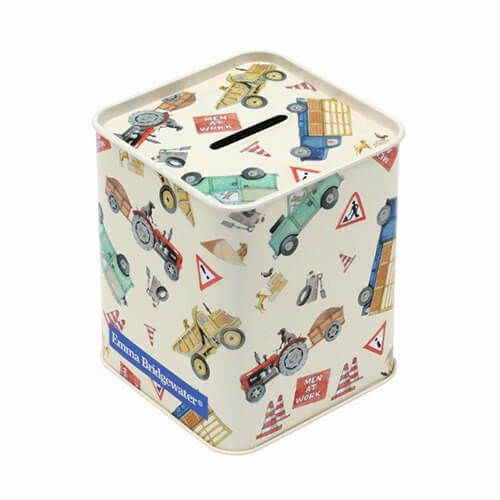 Emma Bridgewater Men At Work Money Box