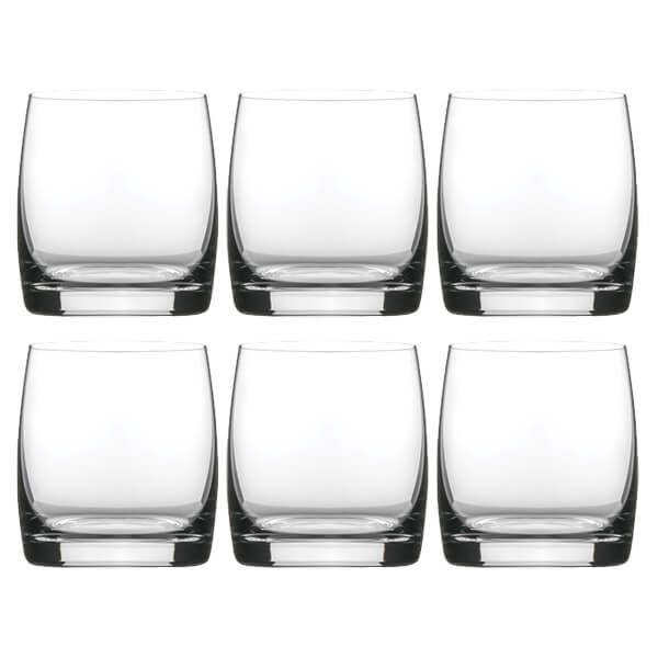 Dartington Crystal Set Of 6 Tumbler Glasses