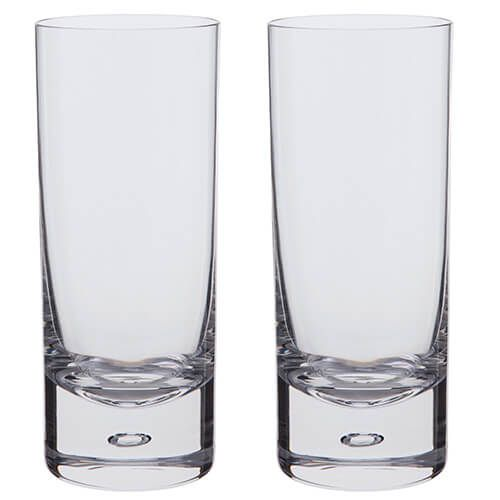 Dartington Exmoor Lead Crystal Set Of 2 Highballs