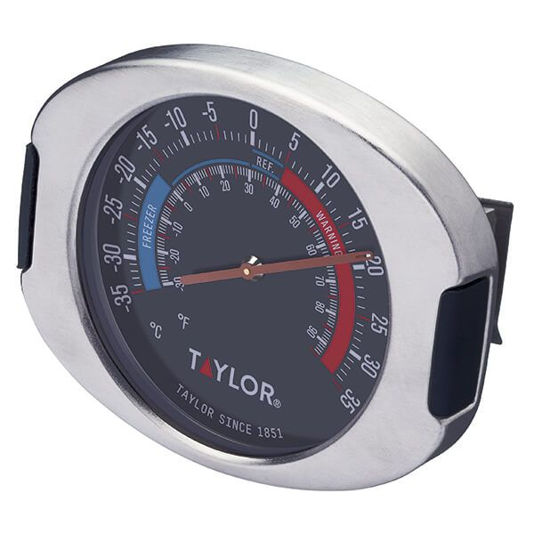 Taylor Pro Stainless Steel Fridge & Freezer Thermometer