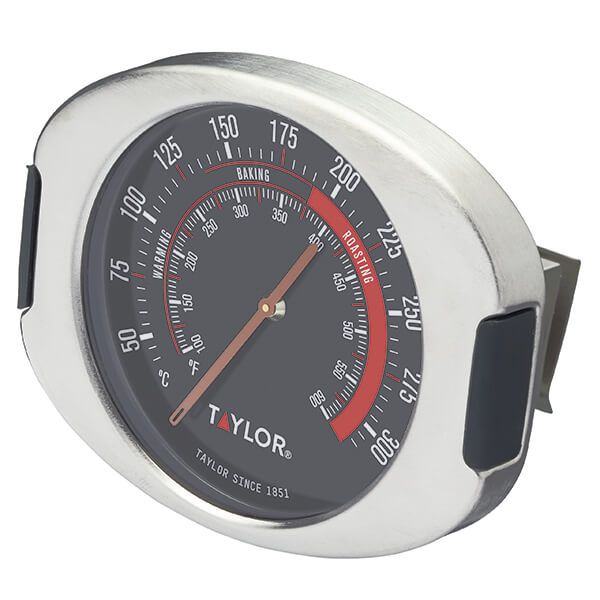 Taylor Pro Stainless Steel Leave-In Oven Thermometer