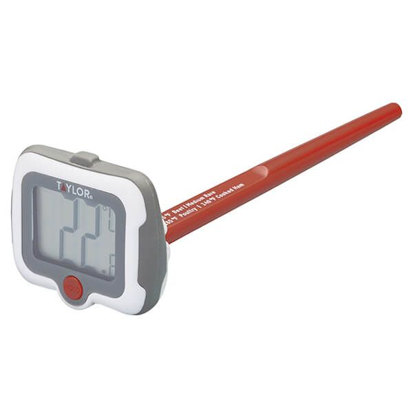 Taylor Pro Pivoting Step Stem Digital Thermometer