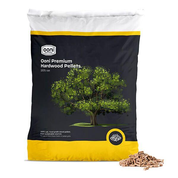 Ooni 10kg Premium Oak Hardwood Pellets