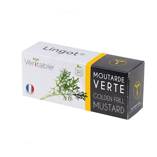 Veritable Organic Golden Frill Mustard Lingot