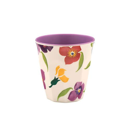 Emma Bridgewater Wallflower Two Tone Melamine Beaker