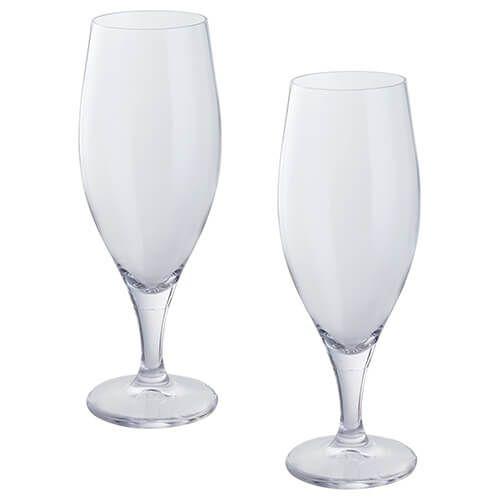Dartington Wine & Bar Set Of 2 Beer Glasses