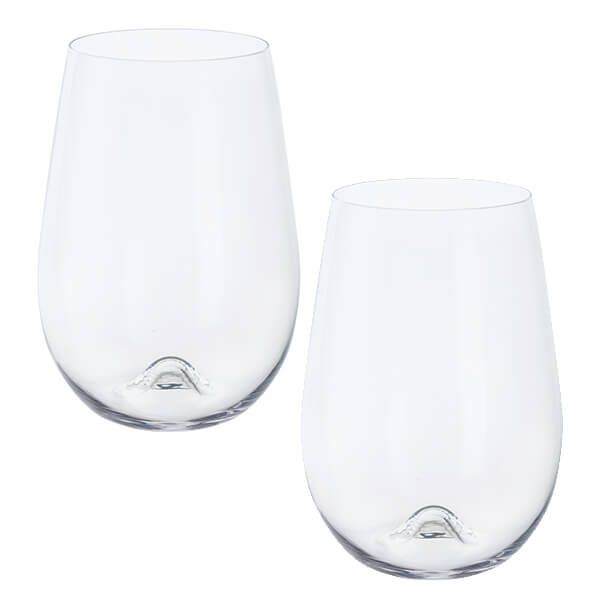 Dartington Wine & Bar Stemless Red Wine Pair