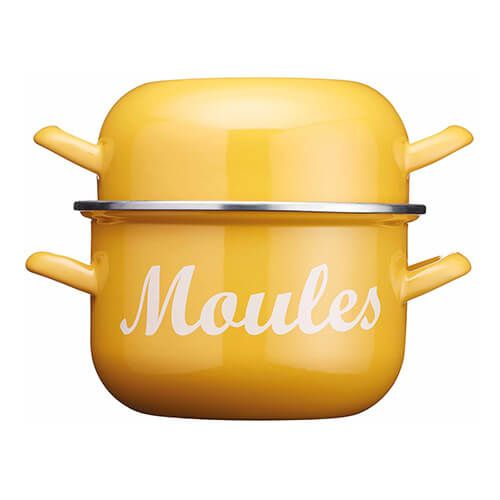 World Of Flavours Yellow Mussel Pot