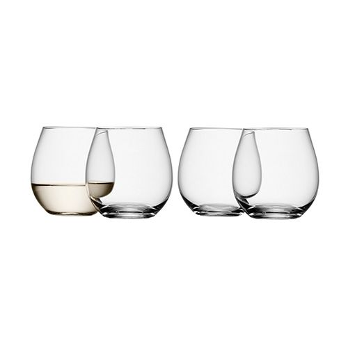 LSA Wine Stemless White Wine Glass Set Of Four