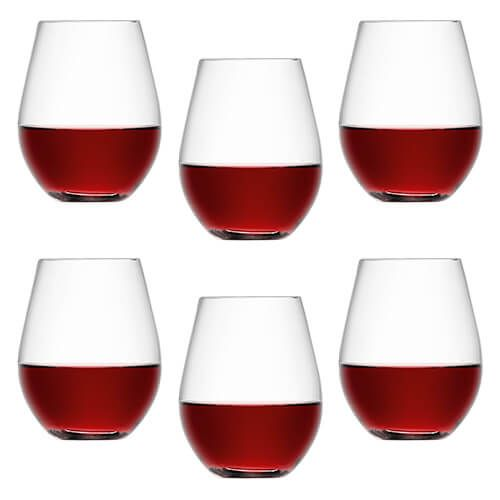 LSA Wine Stemless Red Wine Glass