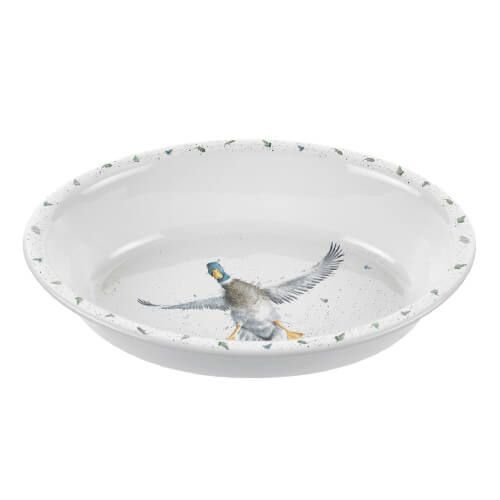 Wrendale Designs Oval Rim Dish Duck