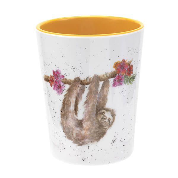 Wrendale Designs Melamine Sloth Beaker