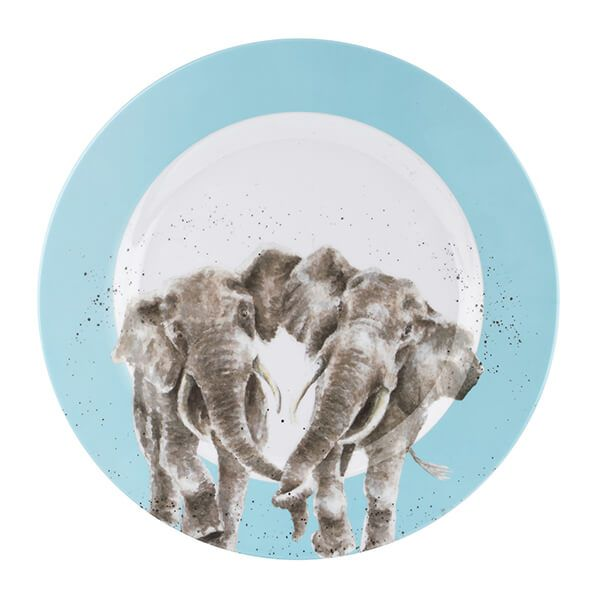 Wrendale Designs Melamine Elephant Dinner Plate
