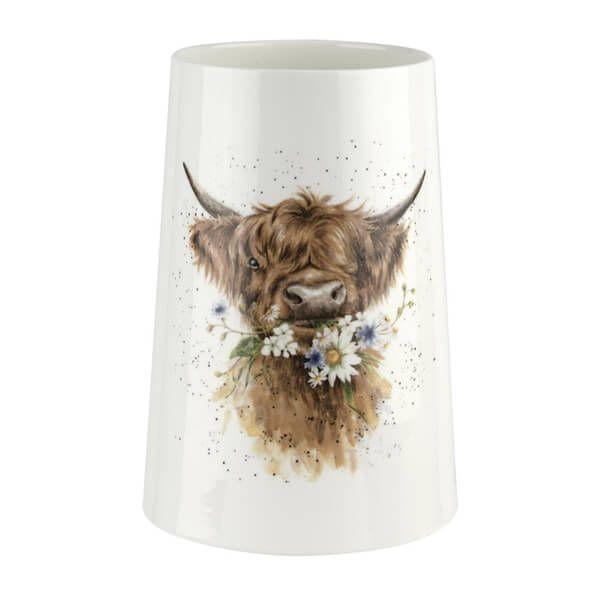 Wrendale Designs Cow Vase