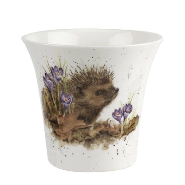 Wrendale Designs Hedgehog Flower/Herb Pot