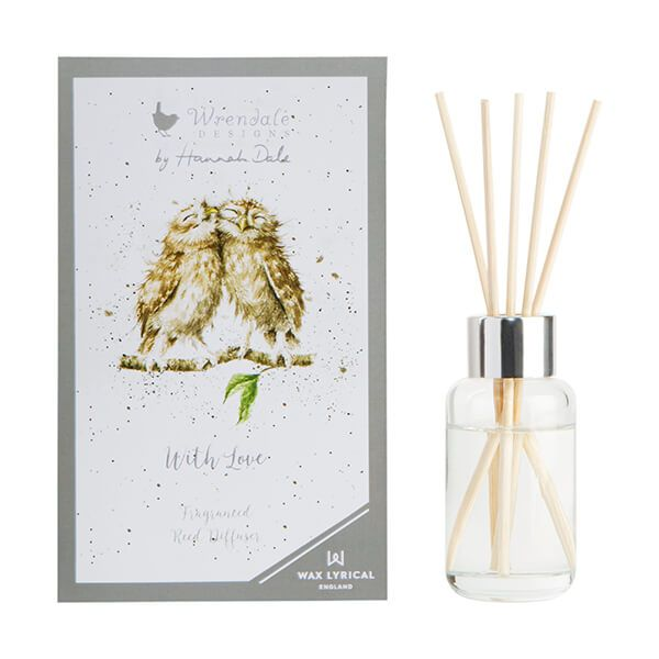 Wrendale by Wax Lyrical 'With Love' Reed Diffuser 40ml