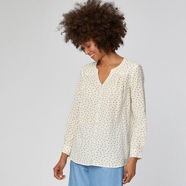 Thought White Sarita Shirt Size 8
