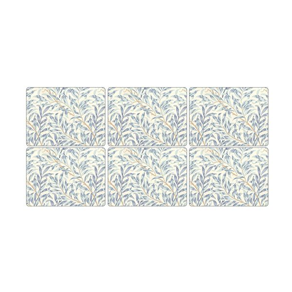 Morris & Co Willow Bough Blue Placemats Set of 6