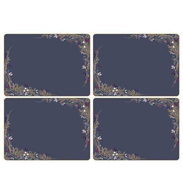 Sara Miller Garland Set of 4 40.1cm x 29.8cm Placemats