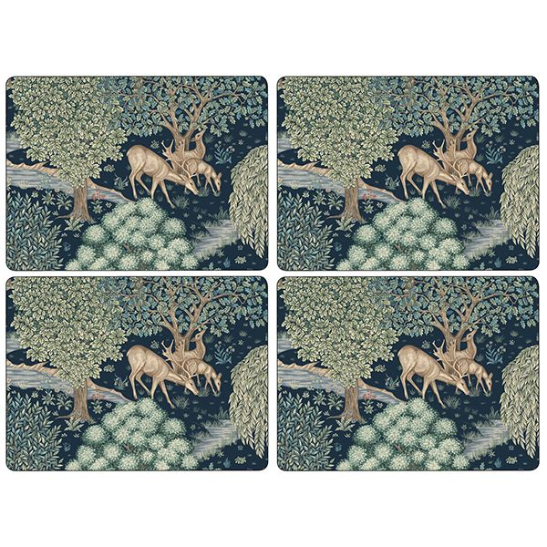 Morris & Co Wightwick Large Placemats Set of 4