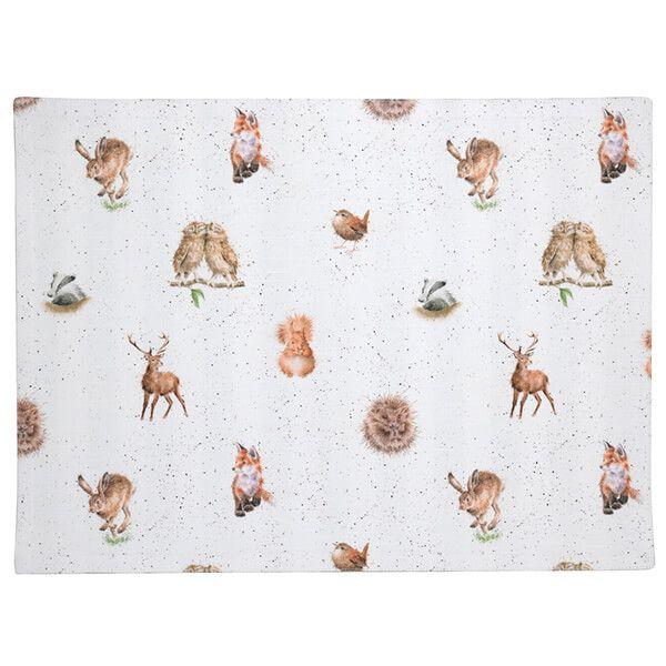 Wrendale Designs Woodland & Stripes Placemat