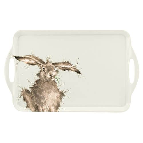 Wrendale Designs Hare Large Handled Tray