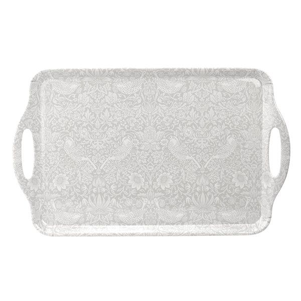 Morris & Co Pure Strawberry Thief Large Handled Tray