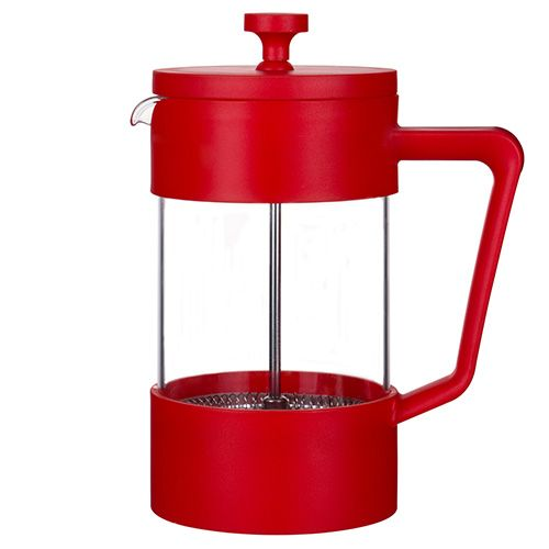 Grunwerg Cafe Ole Studio Red 0.6L Cafetiere