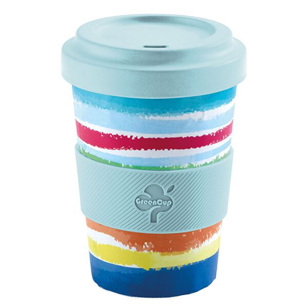 GreenCup by Arthur Price Fiesta Bamboo Fibre Takeaway Cup