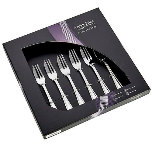 Arthur Price Classic Britannia Set of 6 Pastry Forks