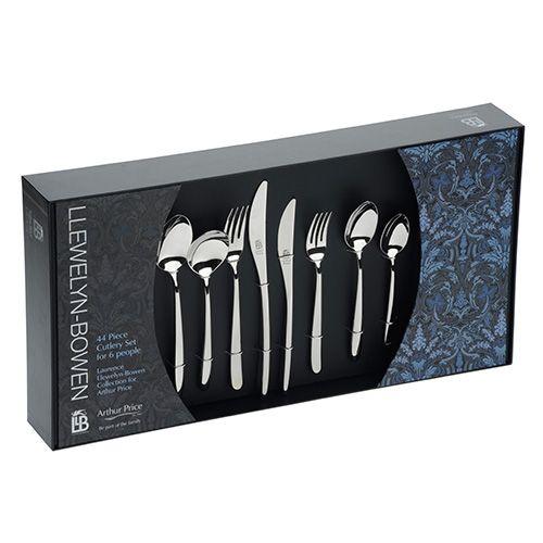 Arthur Price Llewelyn-Bowen Echo 44 Piece Cutlery Box Set